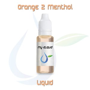 Orange 2 Menthol Liquid